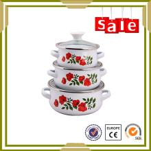 top quanlity enamelware utensilios de cocina auténticos hechos en china