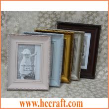 Moldura de foto de madeira sólida clássica para Home Deco