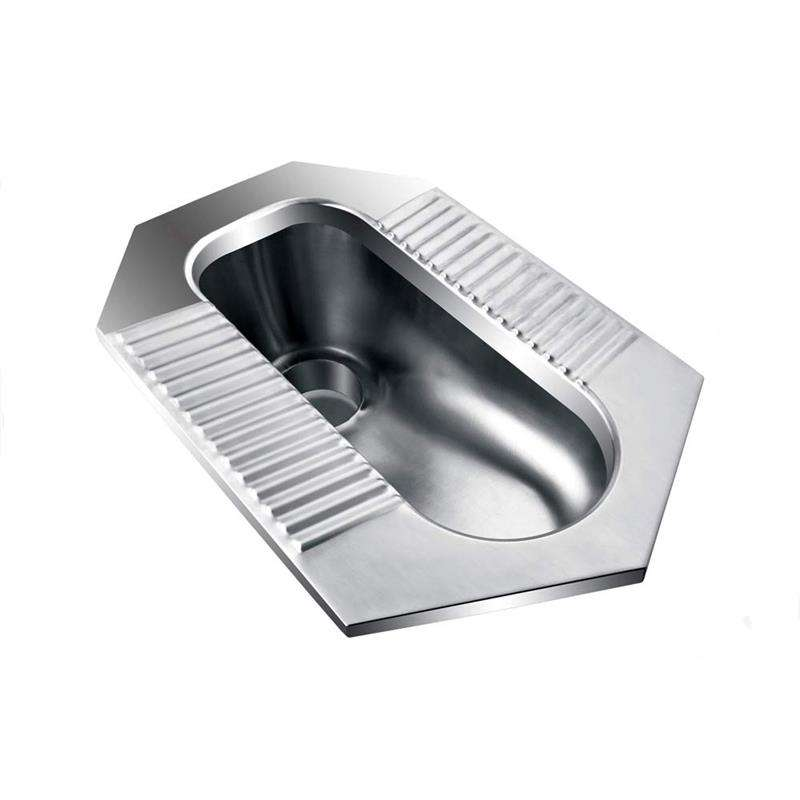Stainless steel squatting pan 15