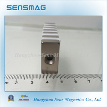 N45sh Permanent Neodymium Magnet with Hole for Motor, Generator