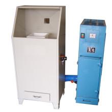Machine de revêtement en poudre à rotor manuel pour lit fluide