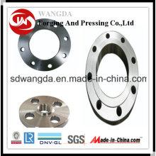Soem-Gewohnheit CNC, das Präzisions-Aluminium geprägte Installationen für Flansch maschinell bearbeitet