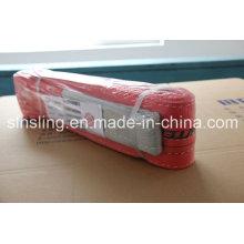 Factor de seguridad de 5tx4m 7: 1 Cinturón de cinta 100% poliéster