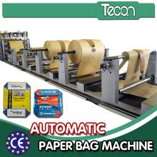 Máquina automática de fazer papel Kraft com sistema de servo