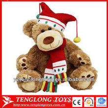 2014 promotional bear toy plush teddy bear custom for Christmas Gifts