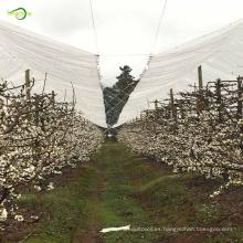 Cubierta protectora plástica del cerezo de la lona transparente