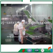 China Máquina de congelación vegetal