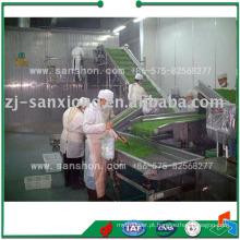IQF Blast Congelamento Vegetais Freezing Machine Congelador Rápido