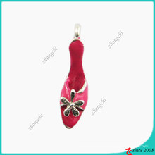 Fashion Rose Pink High Heel Shoes Small Charm (SPE)