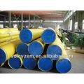 12 inch sch40 pipe cap/ plastic capped large diameter pipe