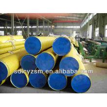 Tapa de tubo sch40 de 12 pulgadas / tubo de gran diámetro cubierto de plástico