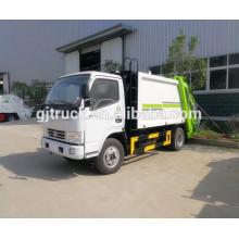 Camión de basura desprendible de 4 * 2 5CBM dongfeng / Dongfeng camión de basura móvil / Dongfeng mini garnage truck / Dongfeng camión de basura pequeño