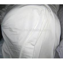 Завод Оптовая продажа полиэстер хлопок 50/50 белая листовая ткань крена