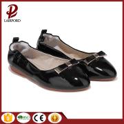 black flat shoes for women wholesale factory