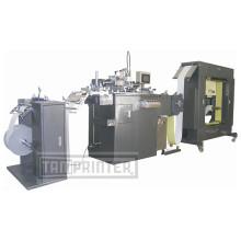 Automatische Rolle, PVC-Siebdruckmaschine zu rollen Fournisseurs