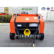 Farm Round Hay Baler Yk0850 Matched with Mini Tractor