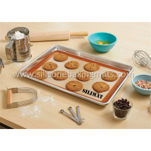 Best Quality for Food Grade Silicone Baking Mat Baking Mat and Cookie Pan Set supply to Mexico Supplier