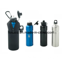 Promotional Alu Water Bottles 750ml -with Case (09FS039)