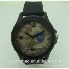 Heißer Verkauf wasserdicht Kristall Google Genfer Uhr Kette mit Kunststoff
