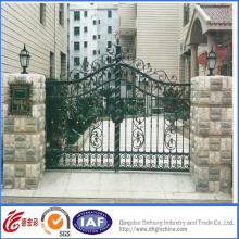 Galvanized High Quality Wrought Iron Gate
