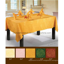 Nice Gold Table Linen Cover (FCX-535)