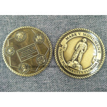 Coleção de Mergulho Personalizada Die Casting Coin