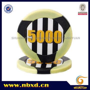 11,5g 2-Tone 3-Stripe ABS Poker Chip
