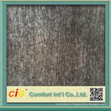 Tissu d'ameublement pour la couverture de sofa faite de polyester