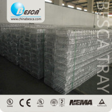 Wave Welded Wire Mesh Cable Tray Prices Electro Polished Basket Type (UL, cUL, CE, TUV)