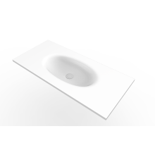 White Modern Design Undercounter Wash Basins