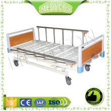 Medical Equipment Price 3 Crank Manual Hospital Bed