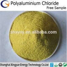 Agente de purificação de água de alta pureza 30% poli alumínio cloreto em pó