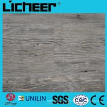 Wpc imperméable à l'eau Revêtement de sol en sol composite 57,5 mm Wpc Flooring 9inx48in High Density Wpc Wood Flooring