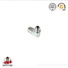 Colocación del hilo de la tubería de acero o acero inoxidable