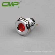 Dia 16mm Metal 12v led pilot lamp