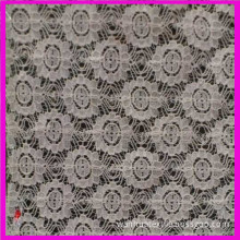 Fashion Cotton Cord Lace Fabric (6214)