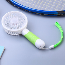 Mini Handheld Battery Rechargeable Fan with Customized Label