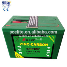 Fence energizer rechargeable battery suitable for solar electric fence energizer