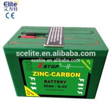Bateria recarregável de energizador de cerca adequada para energizador de cerca elétrica solar