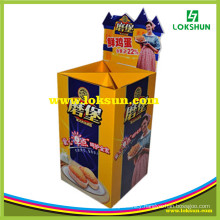 Supermarket Cardboard Display Dump Bin Display Rack