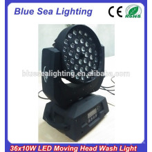 RGBW Farbmischung 36x10w LED-Strahlwäsche zoom