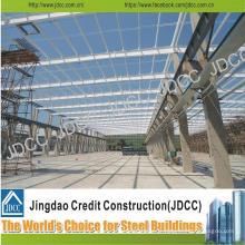 Bâtiments légers galvanisés de bureau d'usine de structure en acier