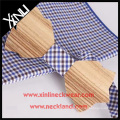 Mens Fancy Neckwear Handcrafted Bow Tie Wood and Hex Tie