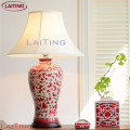 Decorative office desk lamp reading lamps warm light hotel modern table lamp with shade