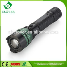 A venda direta da fábrica 220 LM conduziu a lanterna elétrica da tocha, segurança da polícia conduziu a lanterna elétrica