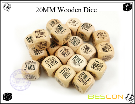 20MM Wooden Dice