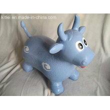 Vaca de leche de PVC saltando juguete juguete inflable de animales