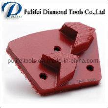 Chine Gros outils de meulage de diamant pour le tampon de diamant en béton