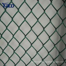 galvanized chain link fence, diamond wire mesh, pvc coated chain link fence