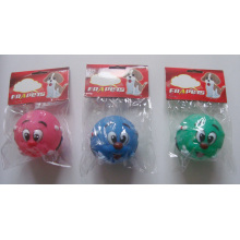 Dog Toy of Vinyl Clown Ball for Dog